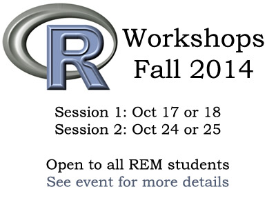 Introduction to R Workshops